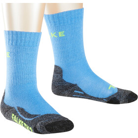 Falke TK2 Trekking Socken Kinder blue note